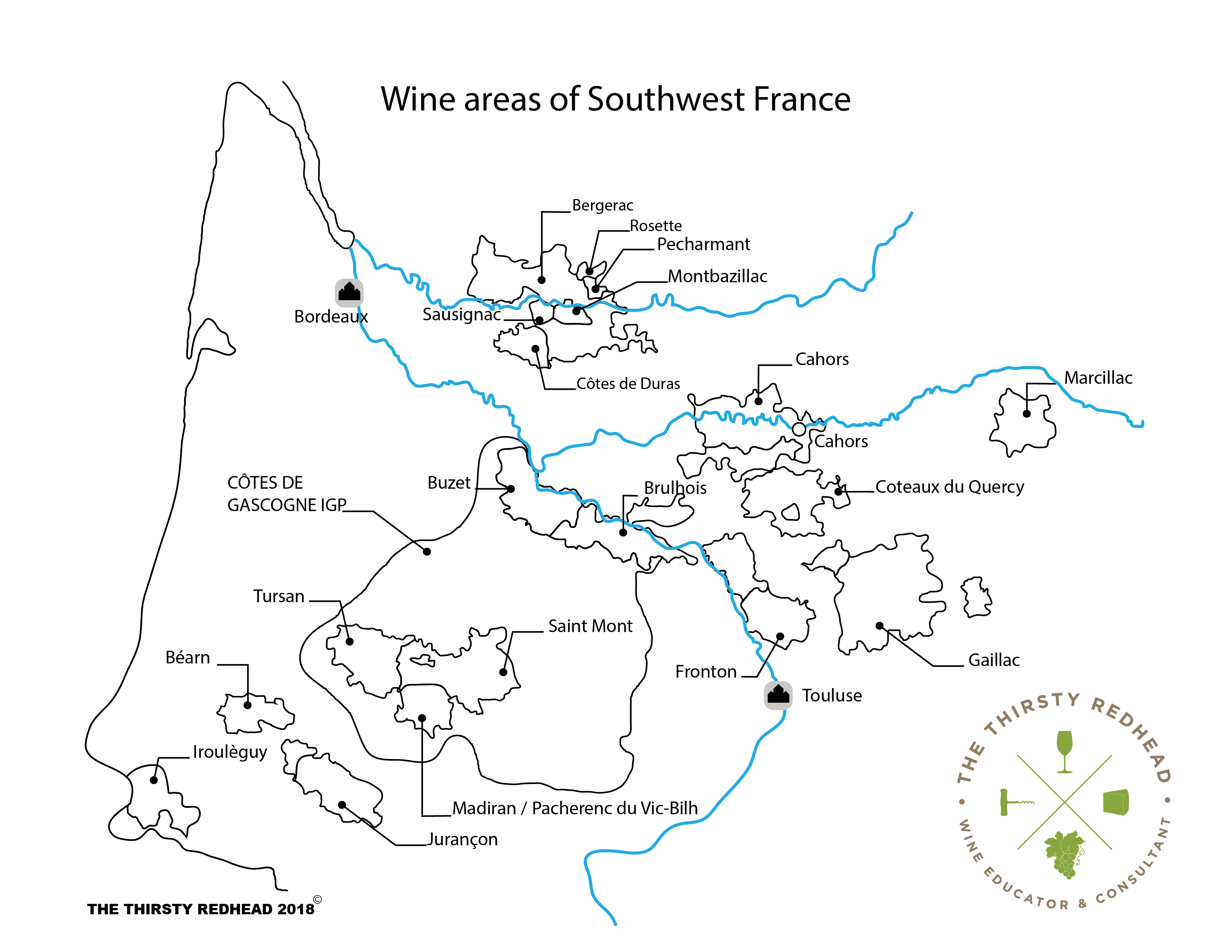Master of Wine exams Archives : The Thirsty Redhead on map of spain and portugal wine, blank map of french wine regions, districts of italy wine,